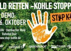 """Bustransfer zu """"Wald retten! Kohle stoppen"""""""