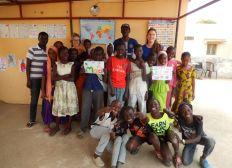 Activités socio-éducatives pour les enfants de Thiès, Sénégal