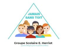 Villeurbanne - Ecole Edouard Herriot - Jamais sans TOIT