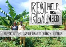 Real Help for a Real Need - supporting families with disabled children in Uganda