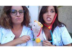 Deux étudiantes infirmières a la découverte de la santé au Pérou