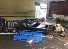 Inondation écoles conques sur orbiel