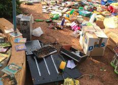 Catastrophe naturelle à Ouagadougou - la Paillote des tout petits
