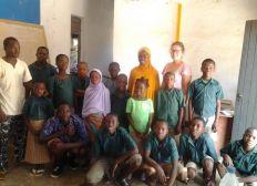 « Fête de Noël,  donner la parole, être à l'écoute des enfants de l'école des sourds-muets de Sokodé »