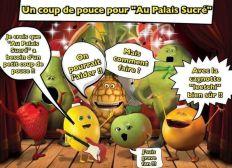 """Un coup de pouce pour """"Au Palais Sucré"""""""