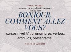Enseignement du français à l'international.