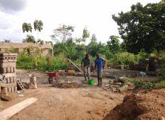 Dons pour finir la construction d'un dispensaire au Togo