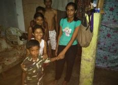 Hilfe Für Rijal in Sri Lanka