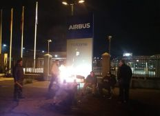 CAJA DE RESISTENCIA, HUELGA INDEFINIDA ISS AIRBUS