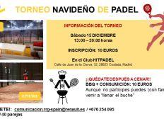 Torneo Padel RRG Madrid