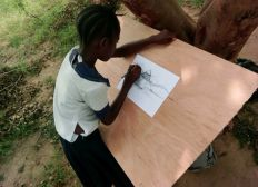 École pour les enfants du congo