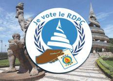 Je vote le RDPC, Operation  100% législatives et Municipales.