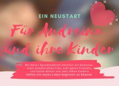 Ein Neustart für Andreina und ihre Kinder