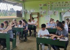 Volunteering for VESA in Ecuador