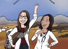 Jeanne et Suzana - Stage infirmier en Mongolie