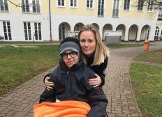 Patrice (15) - Z.n. Schlaganfall mit Hirnblutung - Ein Kampf zurück ins Leben