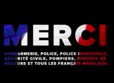 Les expats français soutiennent la Police et la Gendarmerie
