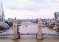 Un drone sur Londres