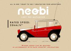 Neobi 360 - Low Speed Electric Velomobile