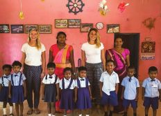 Sourire en orphelinats