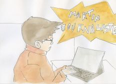 Martin Journaliste