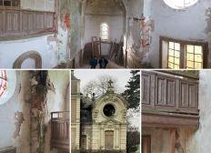 Rénovation de la chapelle de la Morosière à Neuvy en Mauges - Maine et Loire