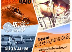 «TEAM ELSASS RAID'NECK» En route pour la 16ème 205 AFRICA RAID