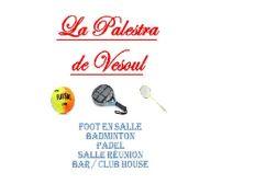 Création salle de sport  La Palestra de Vesoul
