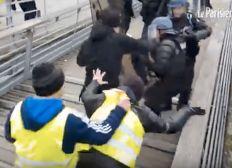 Soutien au policier frappé par Christophe Dettinger (boxeur gilet jaune)