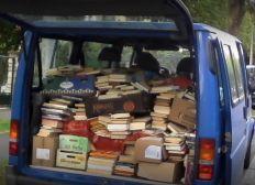 Un véhicule propre et écolo pour sauver des livres !!!