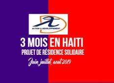 3 MOIS EN HAITI