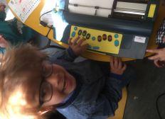 Une machine braille pour Sasha