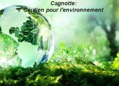 Soutien à l'environnement