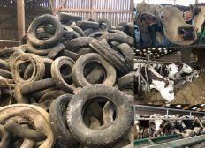 Pneus polluants à la charge des Agriculteurs