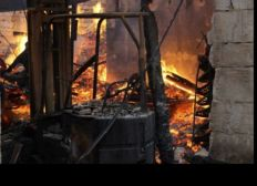 Incendie du menuisier de Vanvey