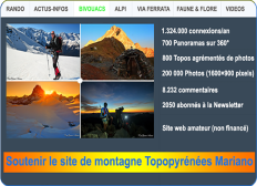 Soutenir le site de montagne Topopyrénées