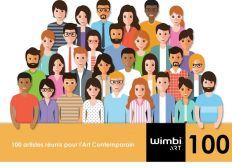 100 Artistes réunis pour l'Art Contemporain