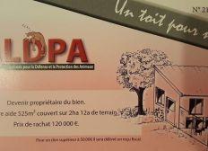 """""""Un toit pour nous"""" refuge ALDPA"""