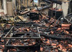 Solidarité pour Christian, Delphine et leurs enfants suite à l'incendie de leur maison