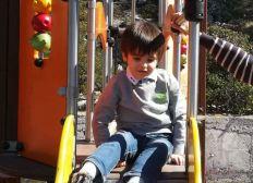 Parcours de psychomotricite pour les enfants presentant des troubles autistiques