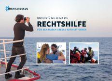 Unterstütze jetzt den Rechtshilfefonds für Sea-Watch Aktivist*innen