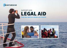 Ora sostenete il Fondo di assistenza legale per gli attivisti di Sea-Watch!