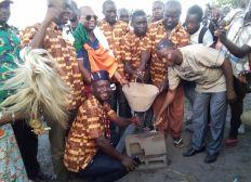 Aide pour la construction d'un centre de formation sport étude à Debango