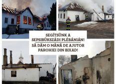 Segítsünk a sepsibükszádi plébánián! // Let's help the parish of Sepsibükszád! // Sa dam o mâna de ajutor parohiei din Bixad!