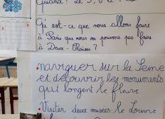 Séjour à Paris pour les élèves de CM1/ CM2- Ecole Primaire de Deux-Chaises