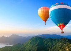 Hot air balloon spot