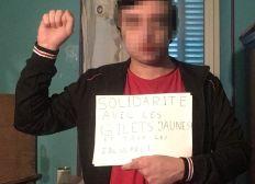 Solidarité avec Marceau jeune Gilet Jaune