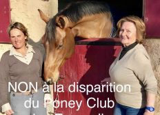 NON à la disparition du Poney Club des Ecureuils à Mandelieu