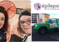 Team Méliza : Rallye auto - Epilepsie France
