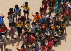 Help orphaned kids in India